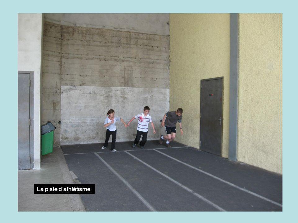 La piste dathlétisme
