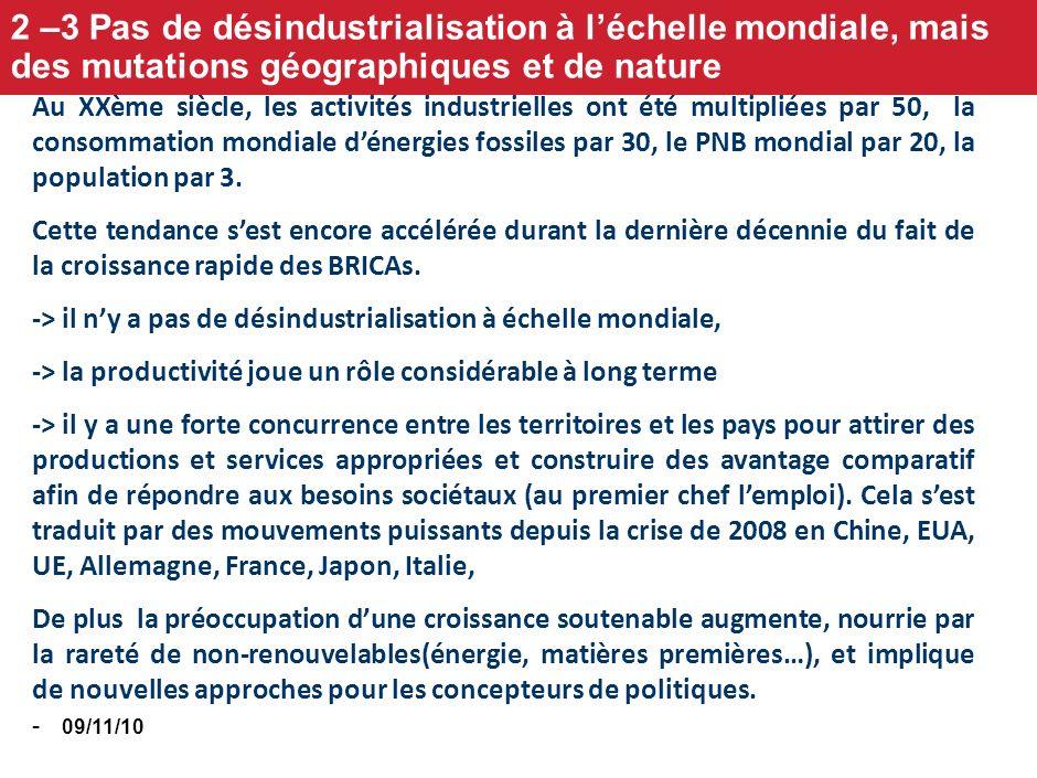 09/11/10 - 79% des exportations et importations en France. Sans rétablissement de la compétitivité face à lAllemagne, pas deuro à terme, et peu dEurop