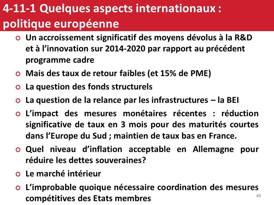 4-10-4 La simplification de la réglementation représente un gisement de 3 à 4% de PIB et constitue une des principales marges de manœuvre pour amélior