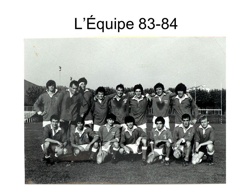 LÉquipe 83-84