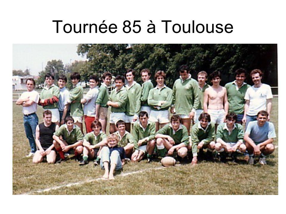 Tournée 85 à Toulouse
