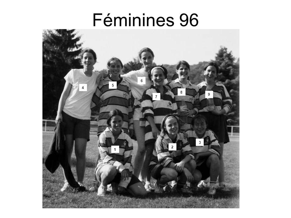 Féminines 96 1 2 3 4 5 6 7 8 9