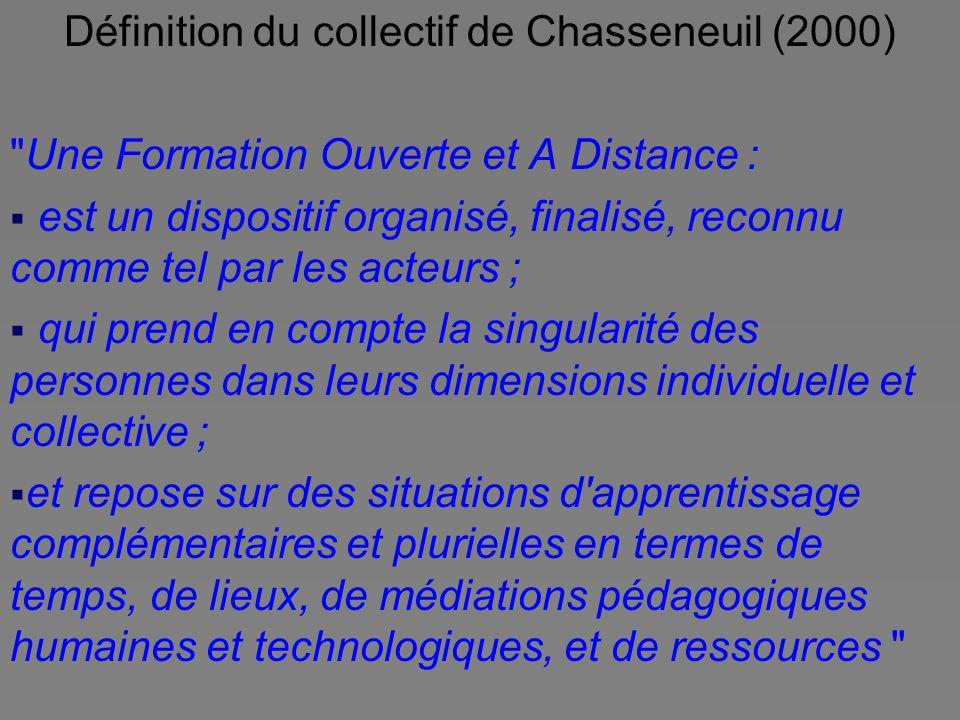 Définition du collectif de Chasseneuil (2000)