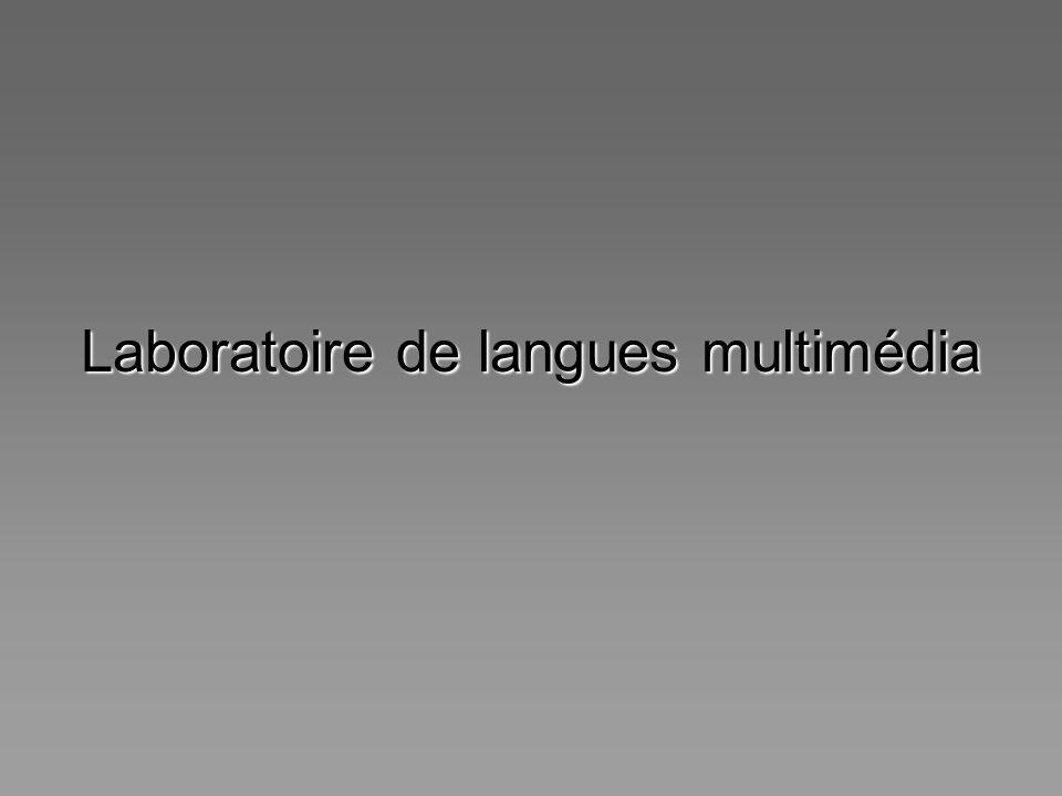 Laboratoire de langues multimédia