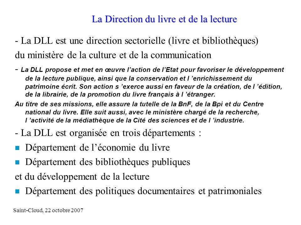 Saint-Cloud, 22 octobre 200714 Deux exemples : la médiathèque Louis Aragon (Le Mans) et la bibliothèque municipale dOrléans.