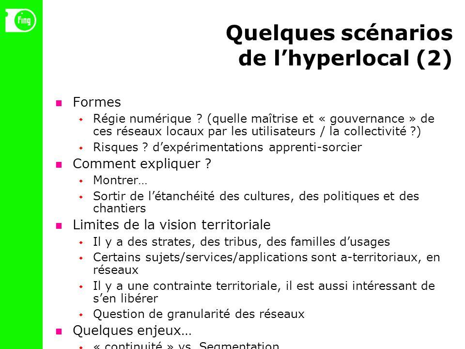 Quelques scénarios de lhyperlocal (2) Formes Régie numérique .