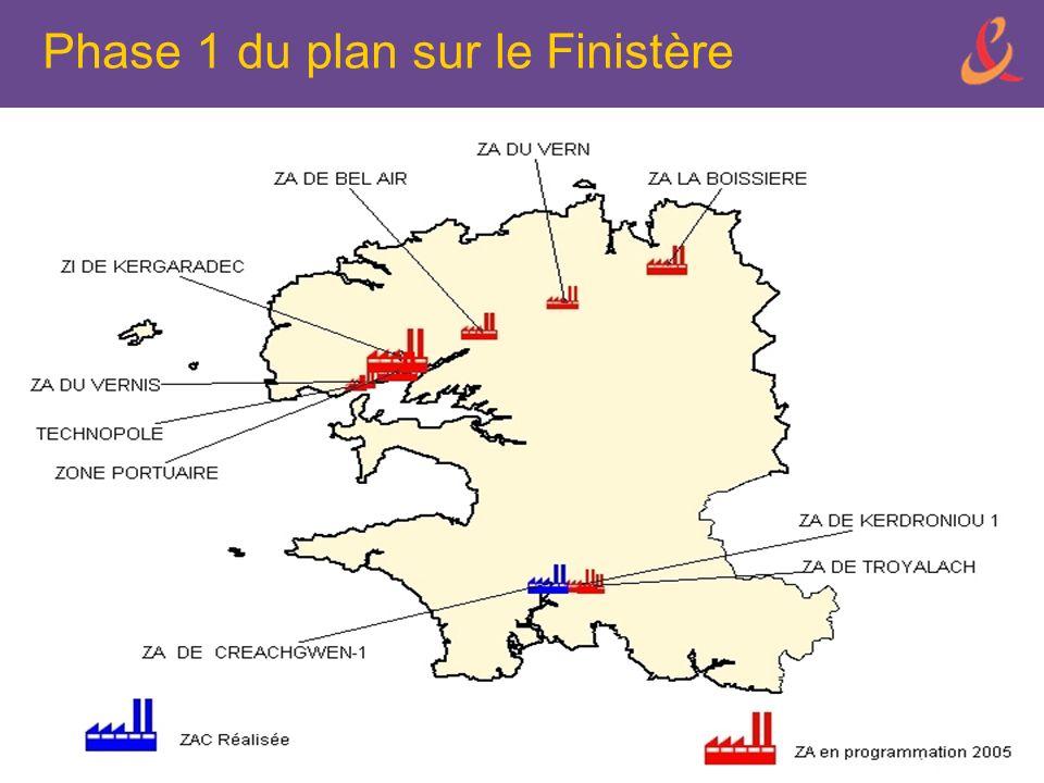 Phase 1 du plan sur le Finistère