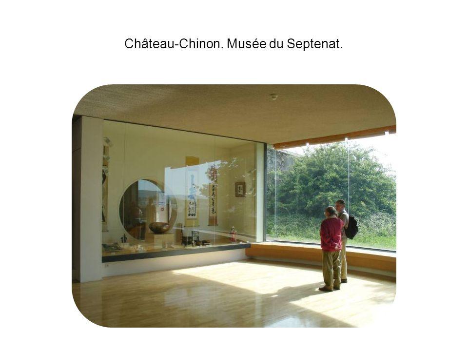 Château-Chinon. Musée du Septenat.