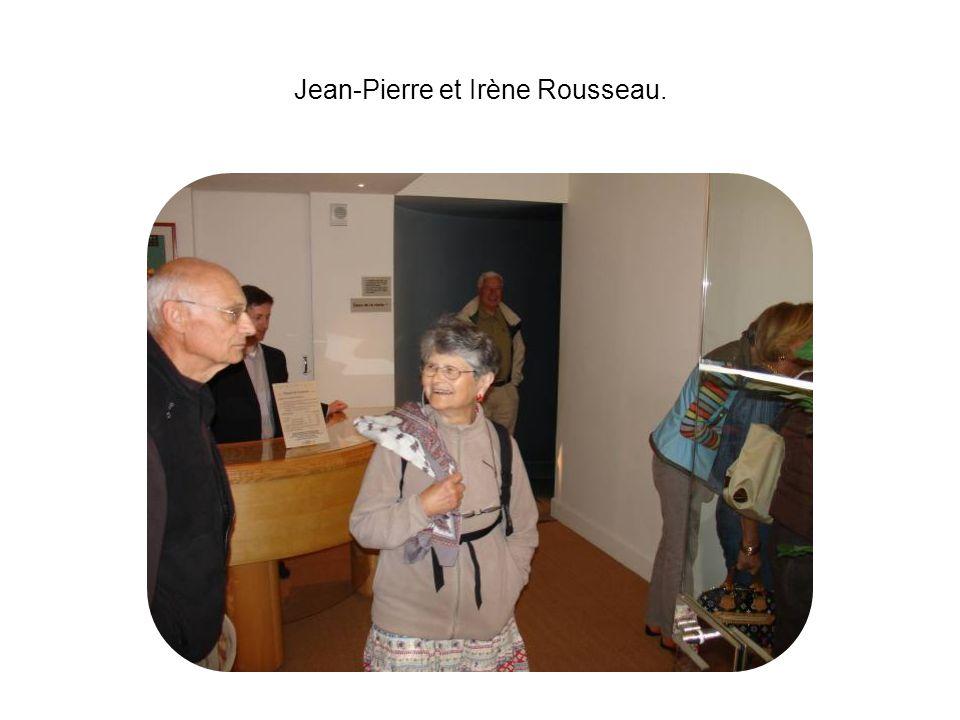 Jean-Pierre et Irène Rousseau.
