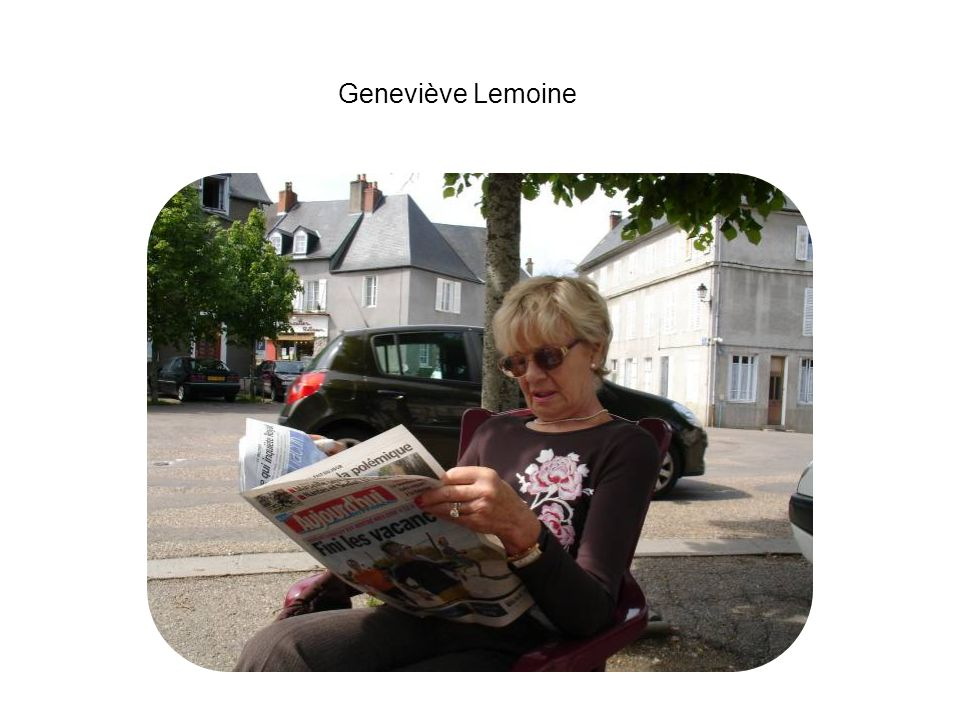 Geneviève Lemoine