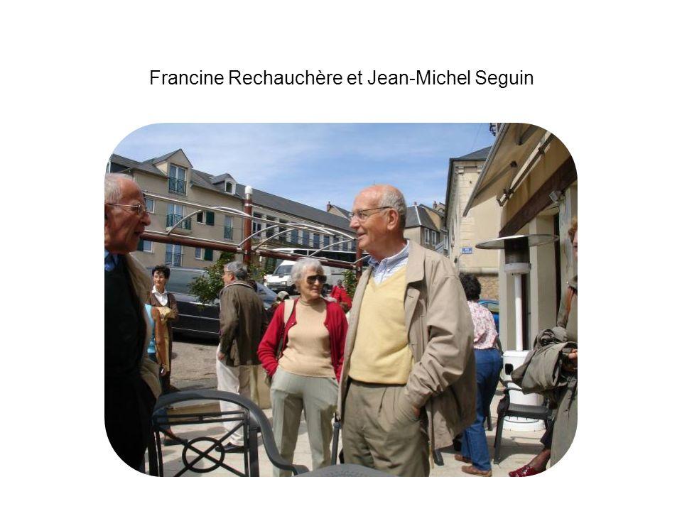 Francine Rechauchère et Jean-Michel Seguin