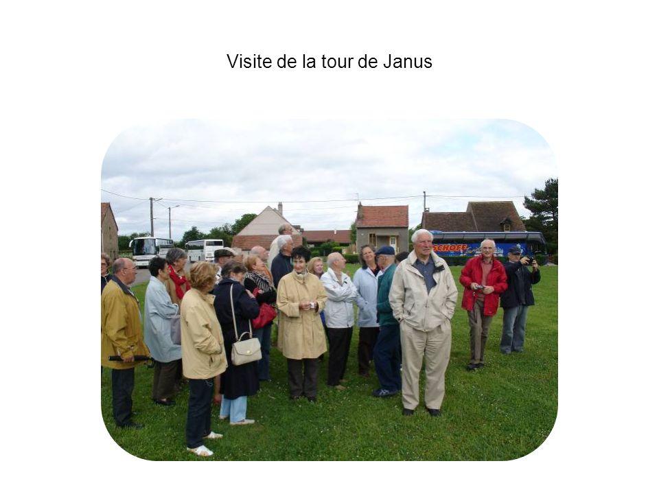 Visite de la tour de Janus