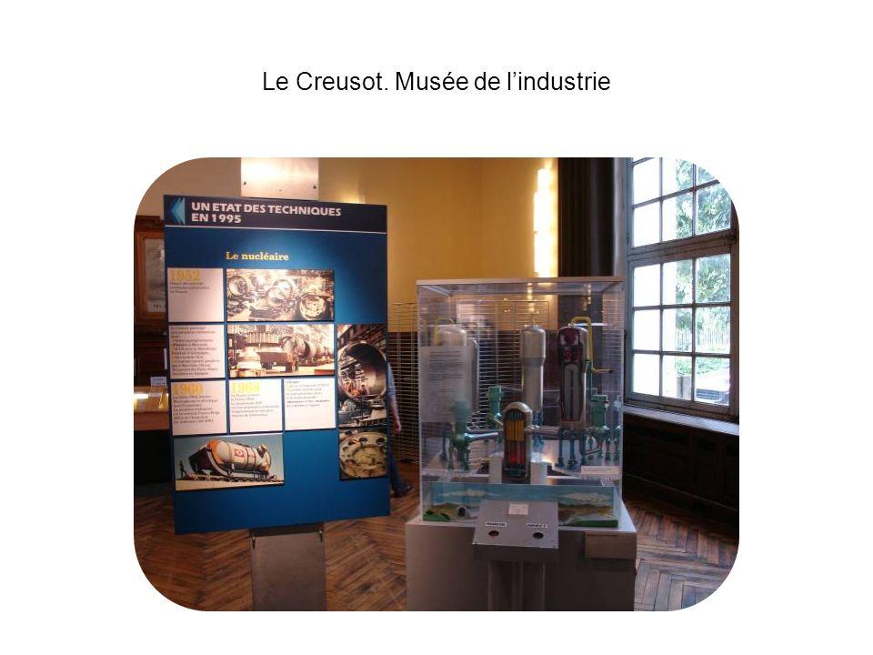 Le Creusot. Musée de lindustrie