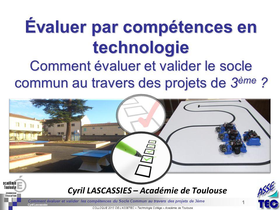 1 Séminaire « Définition de Produits » : méthodologie de définition dune pièce GREC INITIALES COLLOQUE 2013 DE LASSETEC – Technologie Collège – Académ