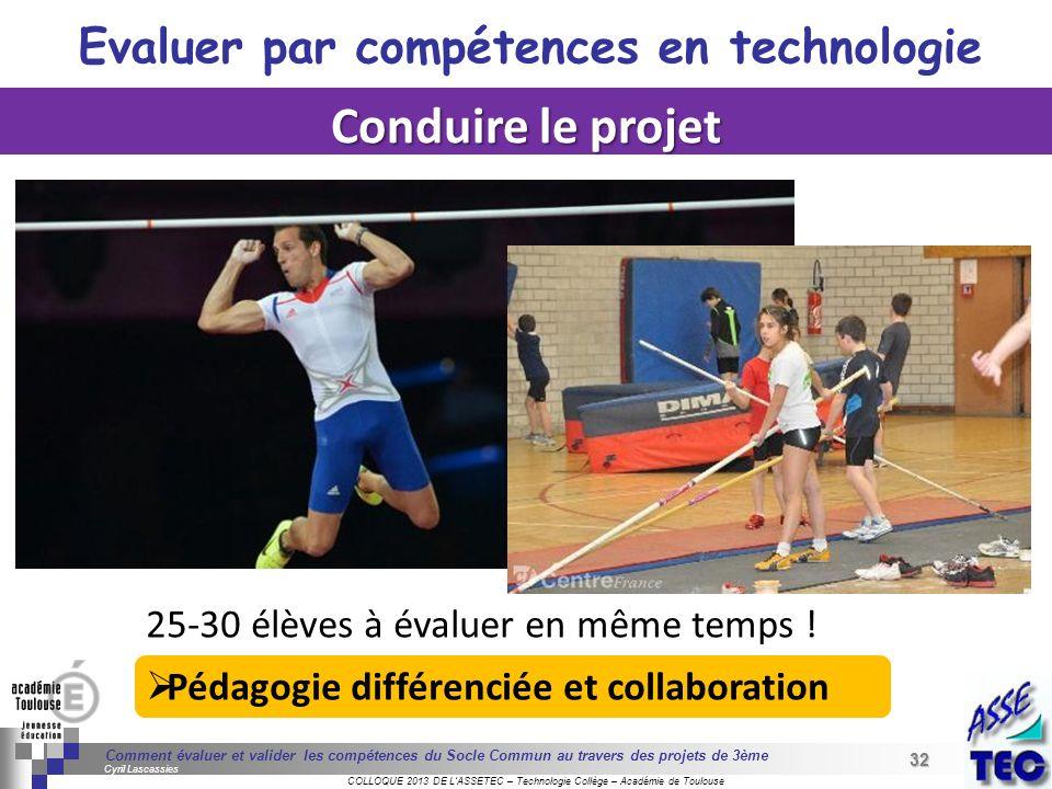 32 Séminaire « Définition de Produits » : méthodologie de définition dune pièce GREC INITIALES COLLOQUE 2013 DE LASSETEC – Technologie Collège – Acadé