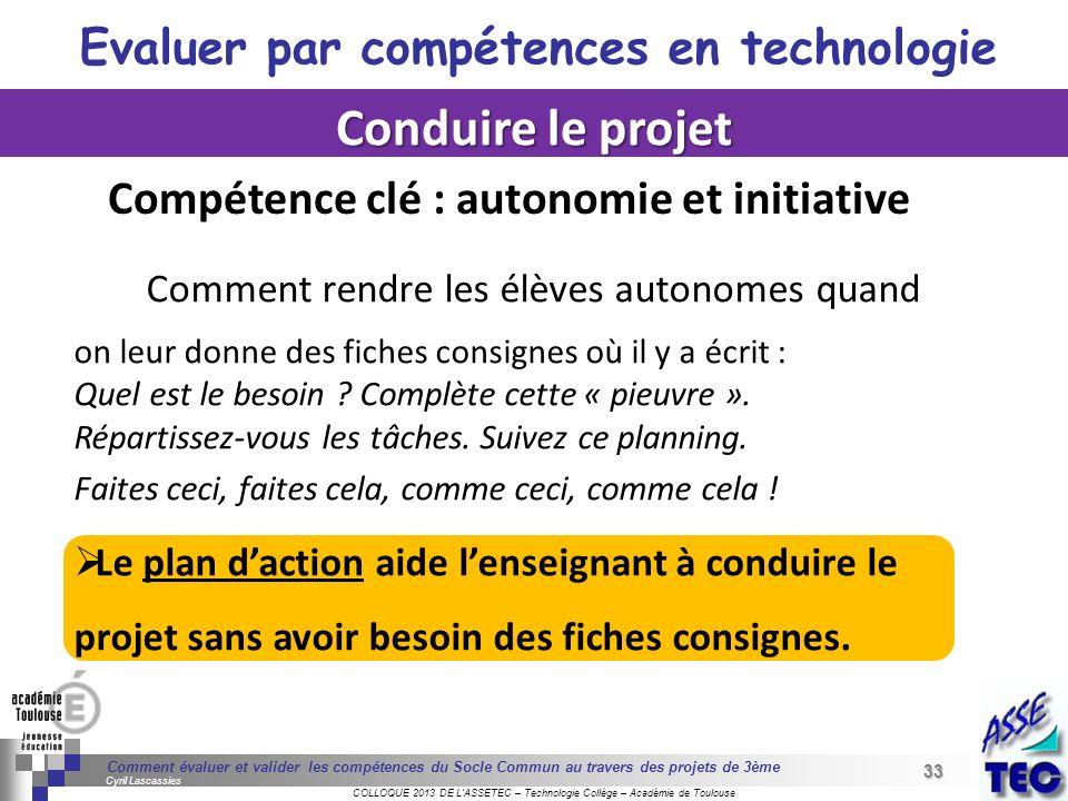 33 Séminaire « Définition de Produits » : méthodologie de définition dune pièce GREC INITIALES COLLOQUE 2013 DE LASSETEC – Technologie Collège – Acadé