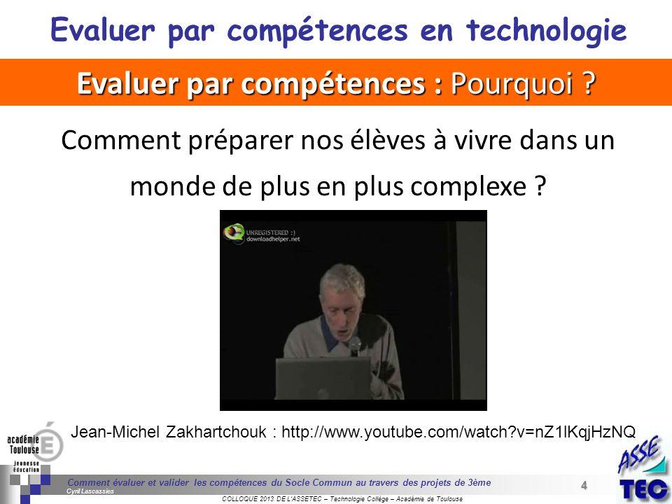 4 Séminaire « Définition de Produits » : méthodologie de définition dune pièce GREC INITIALES COLLOQUE 2013 DE LASSETEC – Technologie Collège – Académ