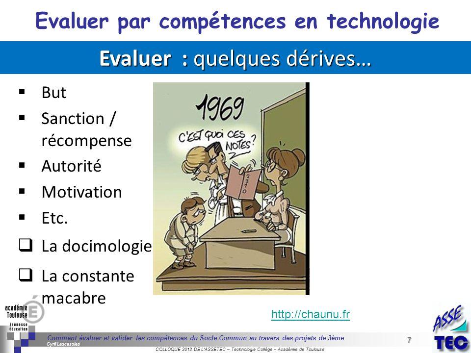 7 Séminaire « Définition de Produits » : méthodologie de définition dune pièce GREC INITIALES COLLOQUE 2013 DE LASSETEC – Technologie Collège – Académ