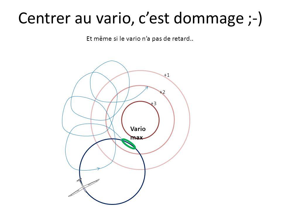 Centrer au vario, cest dommage ;-) +1 +3 +2 Et même si le vario na pas de retard.. Vario max