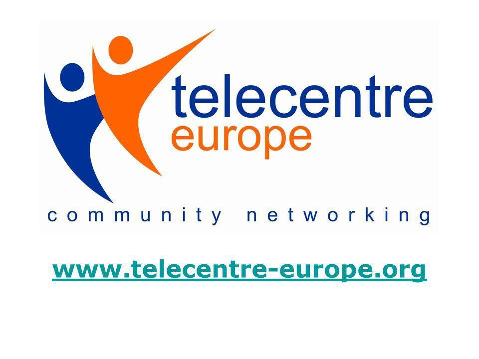 Telecentre-Europe, cest quoi .