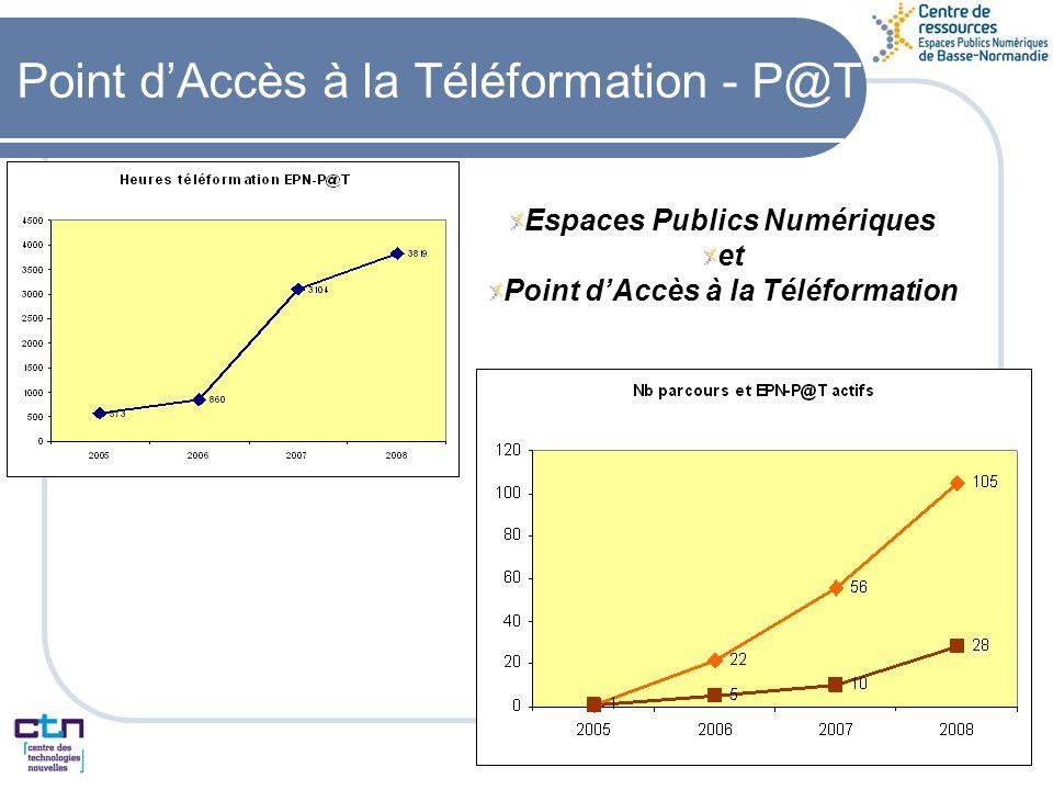 Point dAccès à la Téléformation - P@T Espaces Publics Numériques et Point dAccès à la Téléformation
