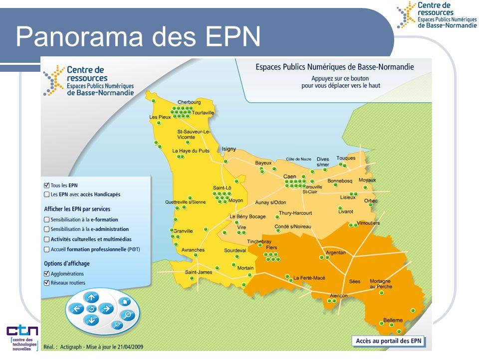 Panorama des EPN