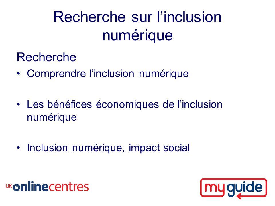 Recherche sur linclusion numérique Recherche Comprendre linclusion numérique Les bénéfices économiques de linclusion numérique Inclusion numérique, impact social