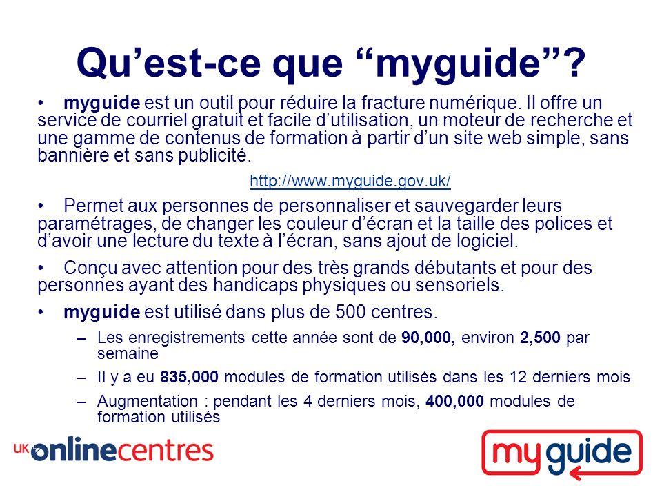 Quest-ce que myguide. myguide est un outil pour réduire la fracture numérique.