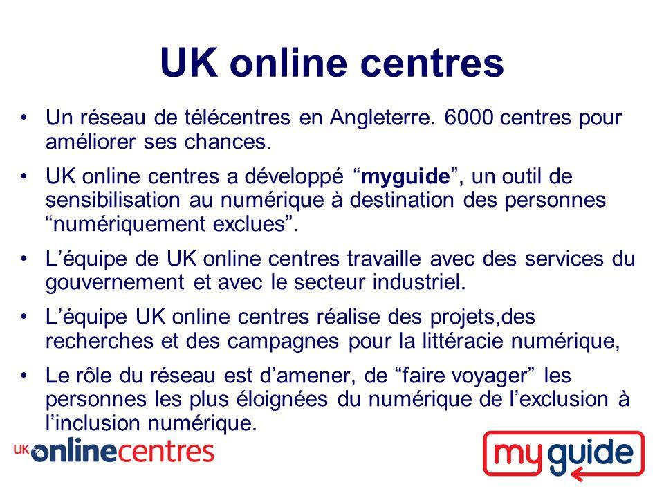 Un réseau de télécentres en Angleterre. 6000 centres pour améliorer ses chances.
