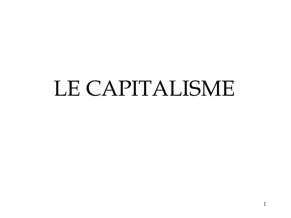 1 LE CAPITALISME