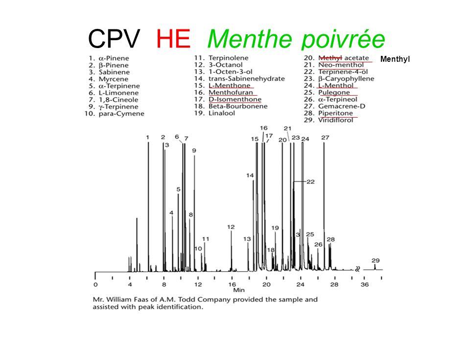 CPV HE Menthe poivrée Menthyl