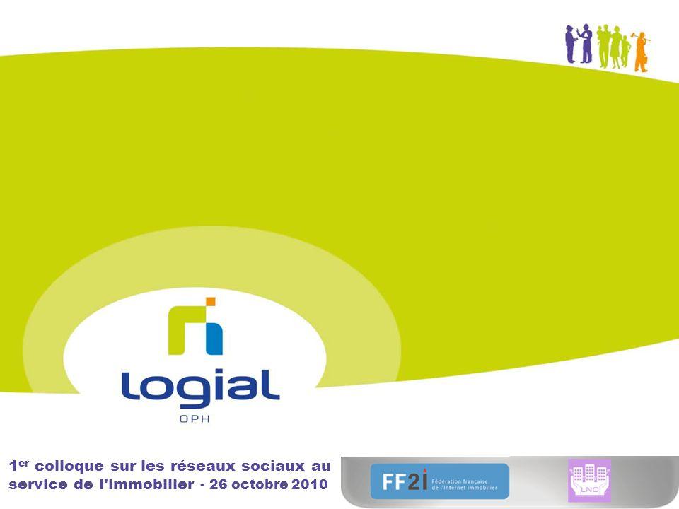 1 er colloque sur les réseaux sociaux au service de l immobilier - 26 octobre 2010
