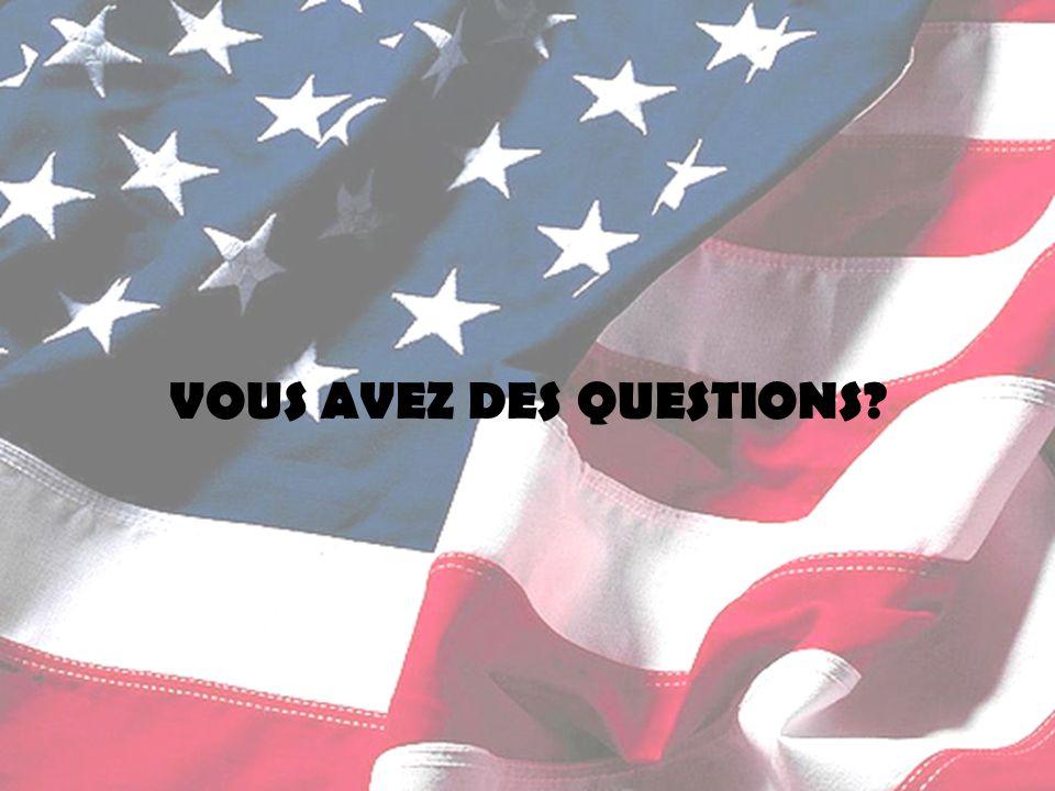 VOUS AVEZ DES QUESTIONS