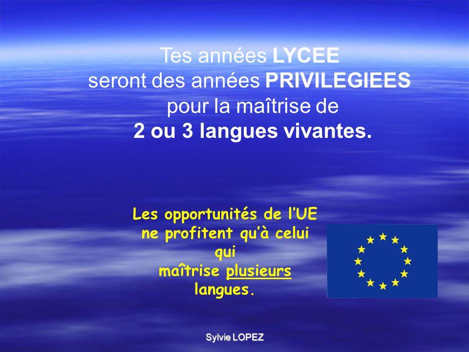 Sylvie LOPEZ Quelques bonnes raisons de choisir ou de renforcer lallemand La langue la plus parlée dans lUE (100 millions.