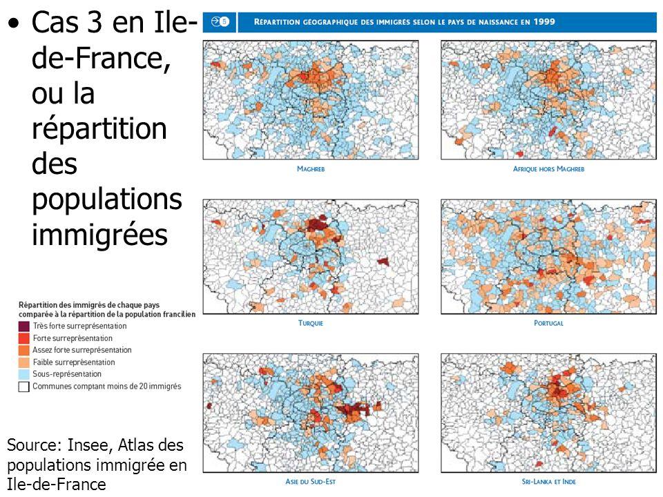 1.a Les divisions de lespace urbain Frontières et zoning Mitage et mixité en question –Les formes de la croissance urbaine (étalement ou densification) –Au delà des simplifications, des maillages métropolitains et locaux complexes