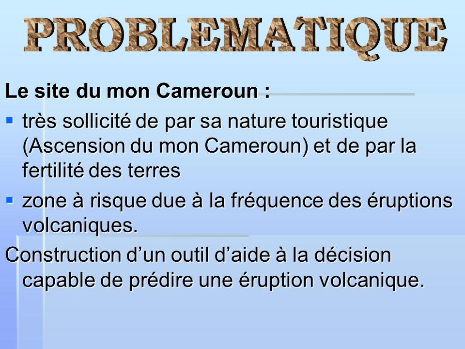 Le site du mon Cameroun : très sollicité de par sa nature touristique (Ascension du mon Cameroun) et de par la fertilité des terres très sollicité de