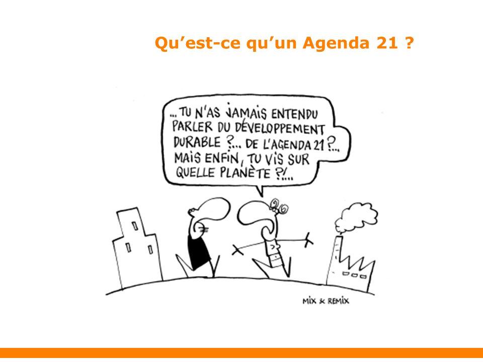 Quest-ce quun Agenda 21 ?