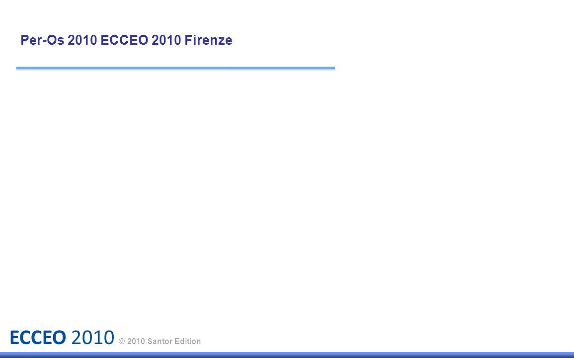ECCEO 2010 © 2010 Santor Edition Per-Os 2010 ECCEO 2010 Firenze