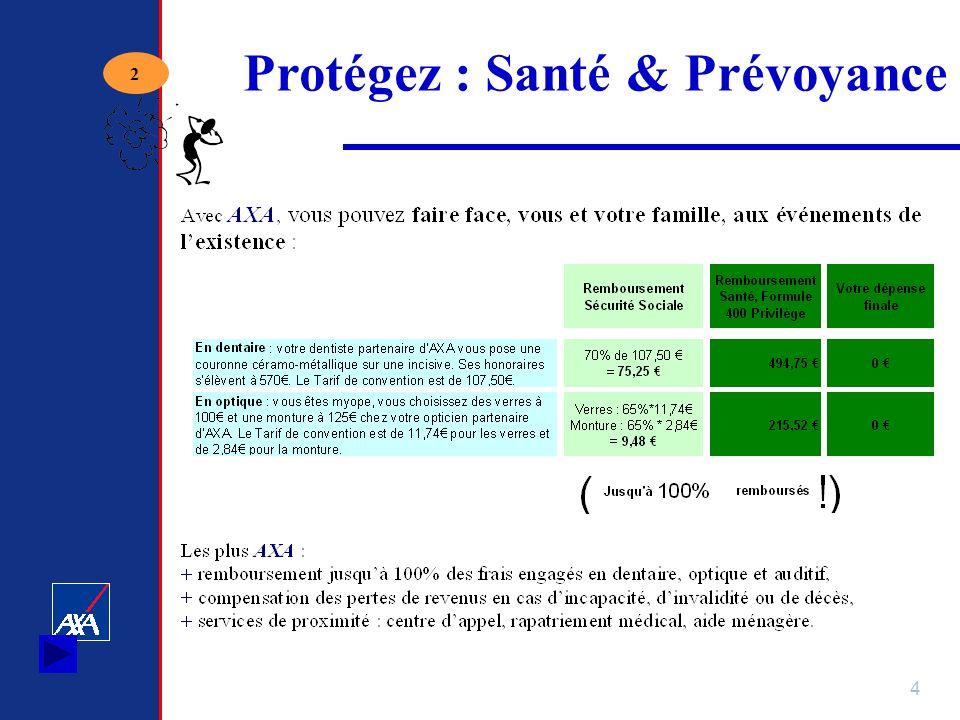 4 Protégez : Santé & Prévoyance 2
