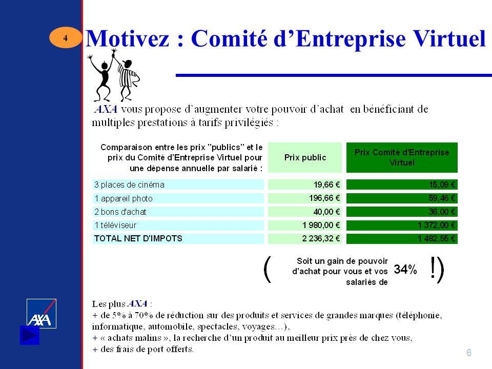 6 Motivez : Comité dEntreprise Virtuel 4