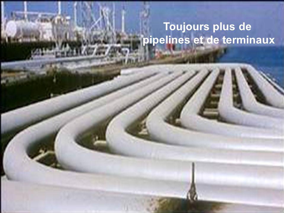 Séance de formation – Participation publique www.transportlearning.net Toujours plus de pipelines et de terminaux