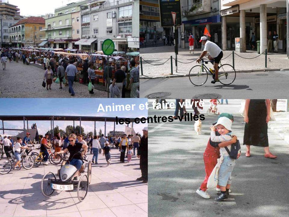 Séance de formation – Participation publique www.transportlearning.net Animer et faire vivre les centres-villes