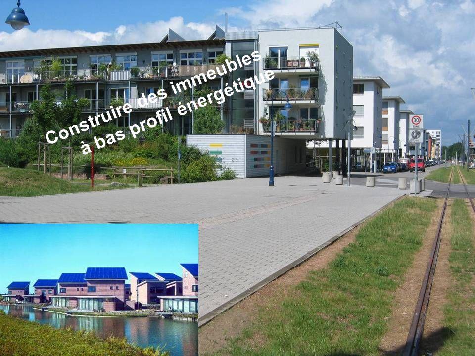 Séance de formation – Participation publique www.transportlearning.net Construire des immeubles à bas profil énergétique