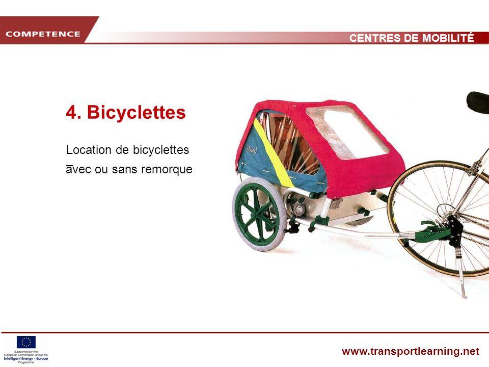 CENTRES DE MOBILITÉ www.transportlearning.net 4.
