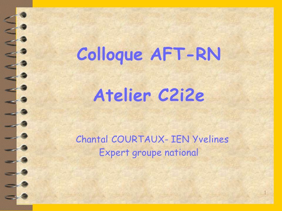 Chantal Courtaux janvier 200712 Le C2i2e dans la FC et la VAE Est-il inscrit dans le plan de formation .