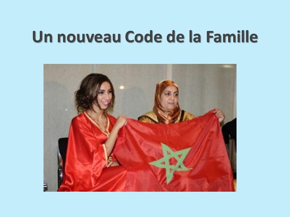 Un nouveau Code de la Famille