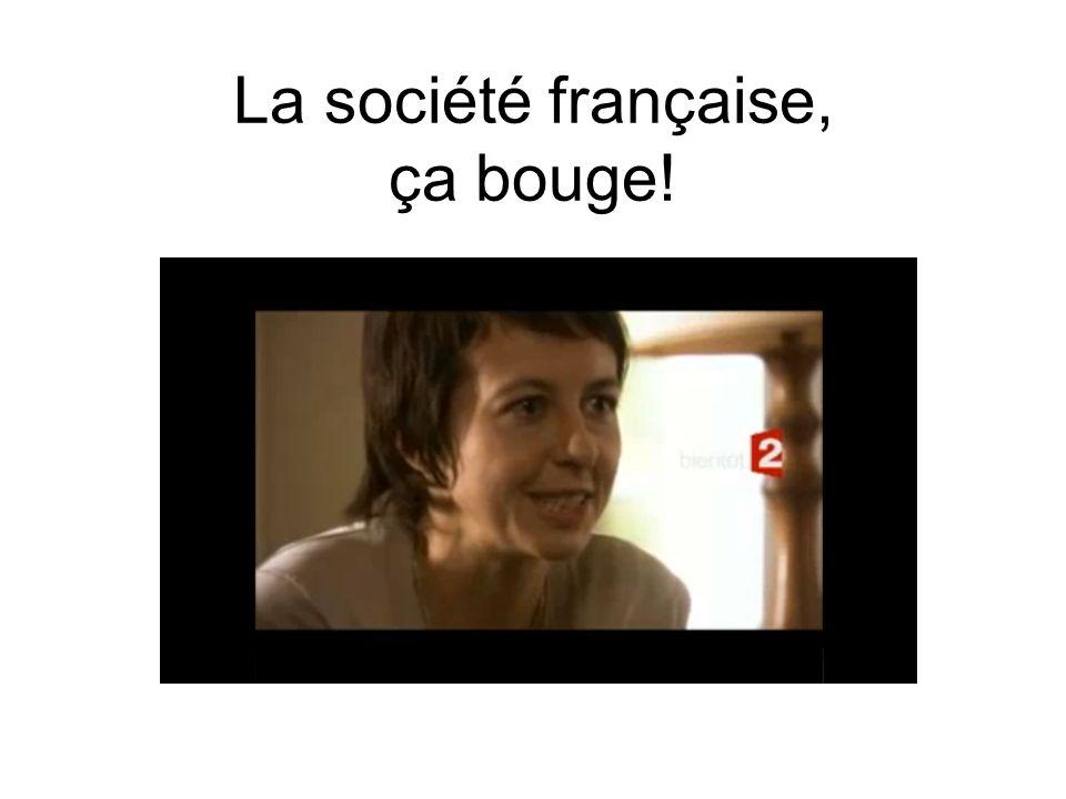 La société française, ça bouge!
