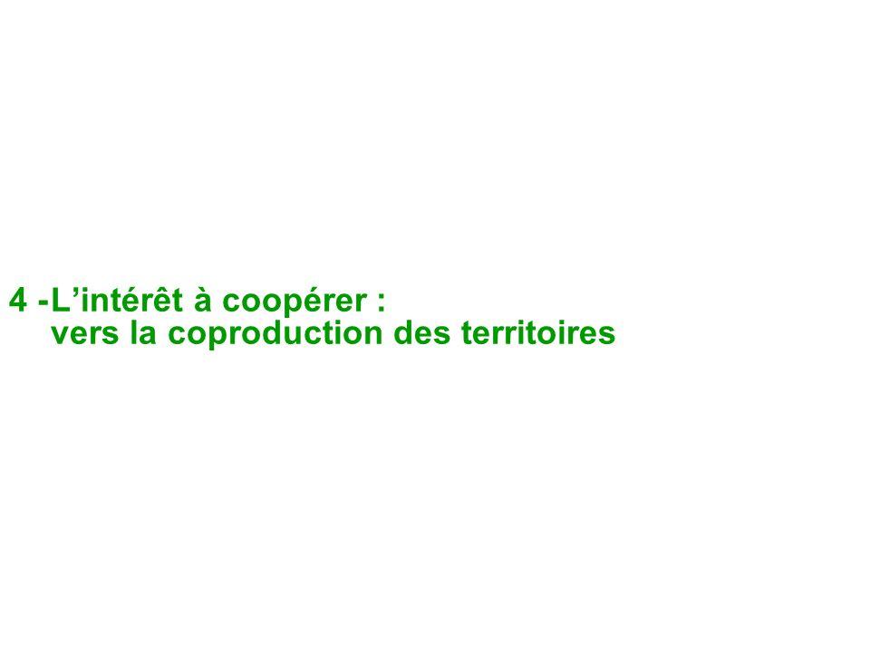4 -Lintérêt à coopérer : vers la coproduction des territoires