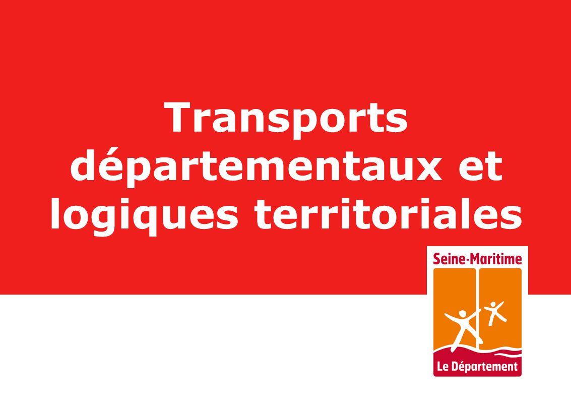 Transports départementaux et logiques territoriales