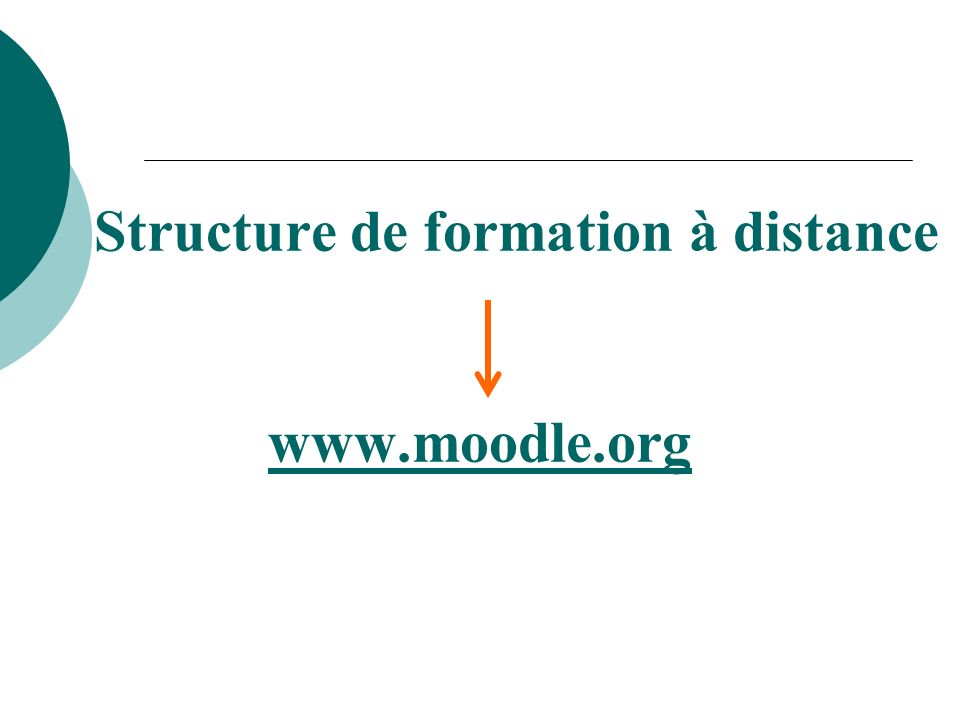 Structure de formation à distance